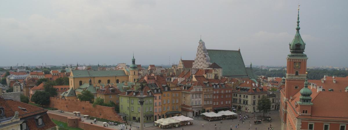 Vols aller-retour Bruxelles - Varsovie pour 57€