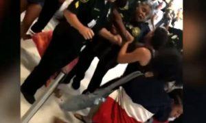 Vidéo virale: Bagarre à l'aéroport