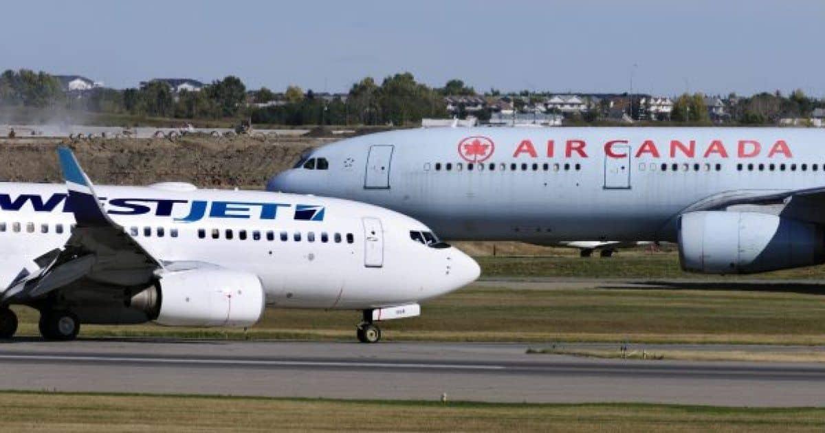 Un pilote de WestJet paye de la pizza aux passagers… d'Air Canada!