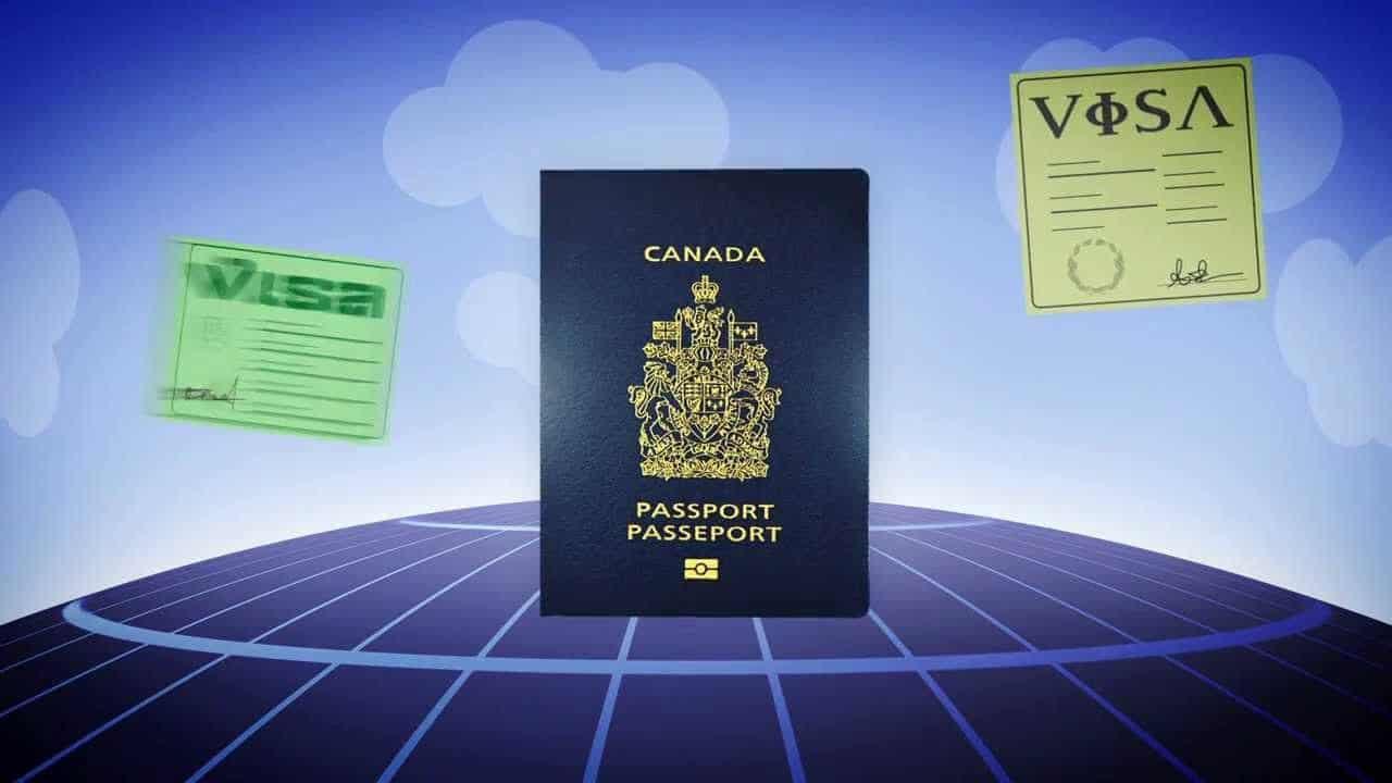 Visa pour les Canadiens