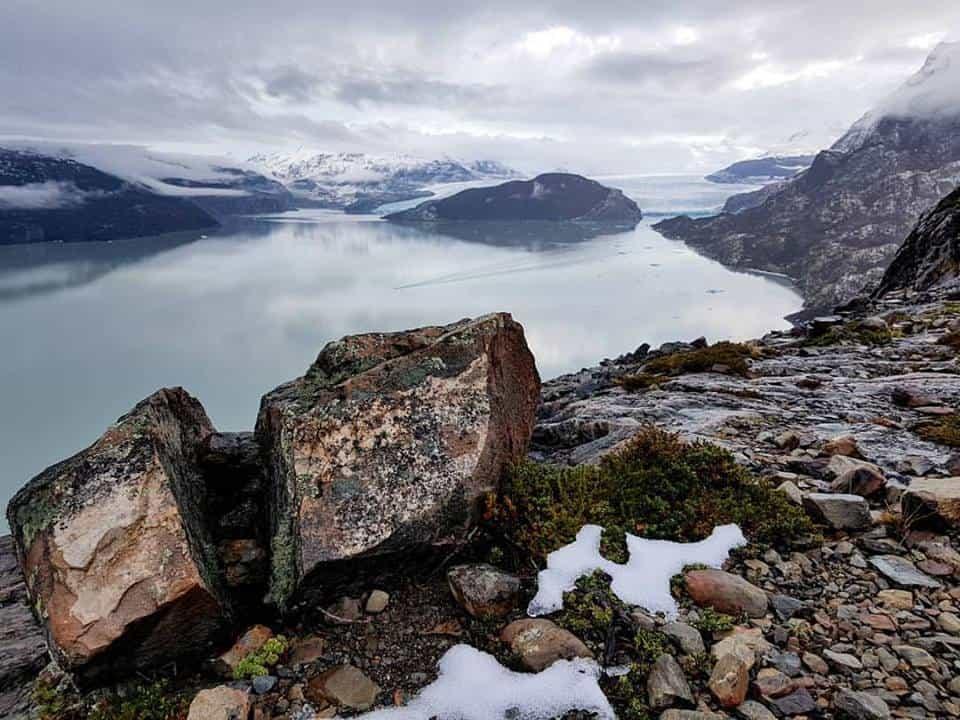 Glacier Grey à Torres del Paine