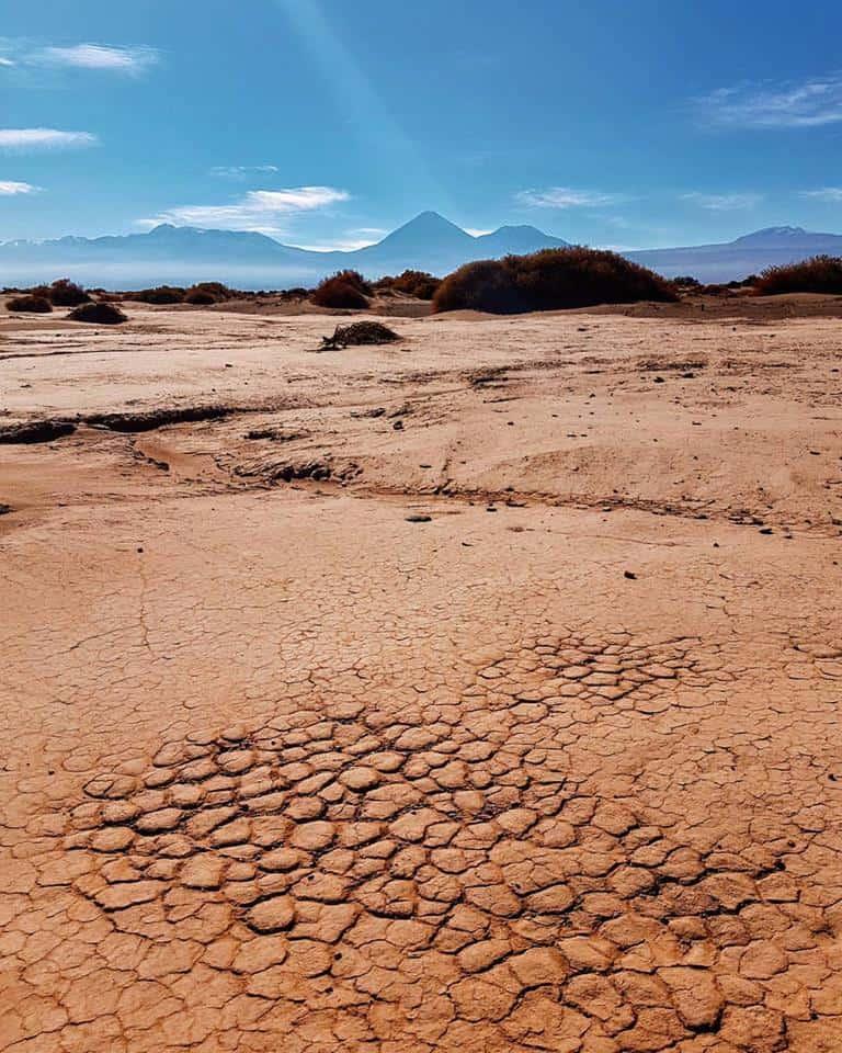 Désert d'Atacama au Nord du Chili