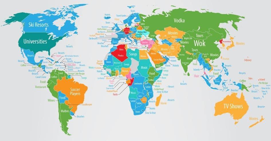 You are currently viewing Voici comment chaque pays du monde est perçu