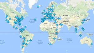 A Map With Airport Wi-Fi Passwords