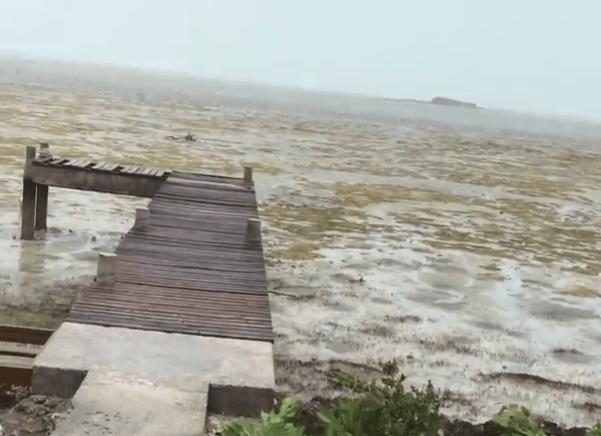 L'ouragan Irma a fait disparaître l'océan