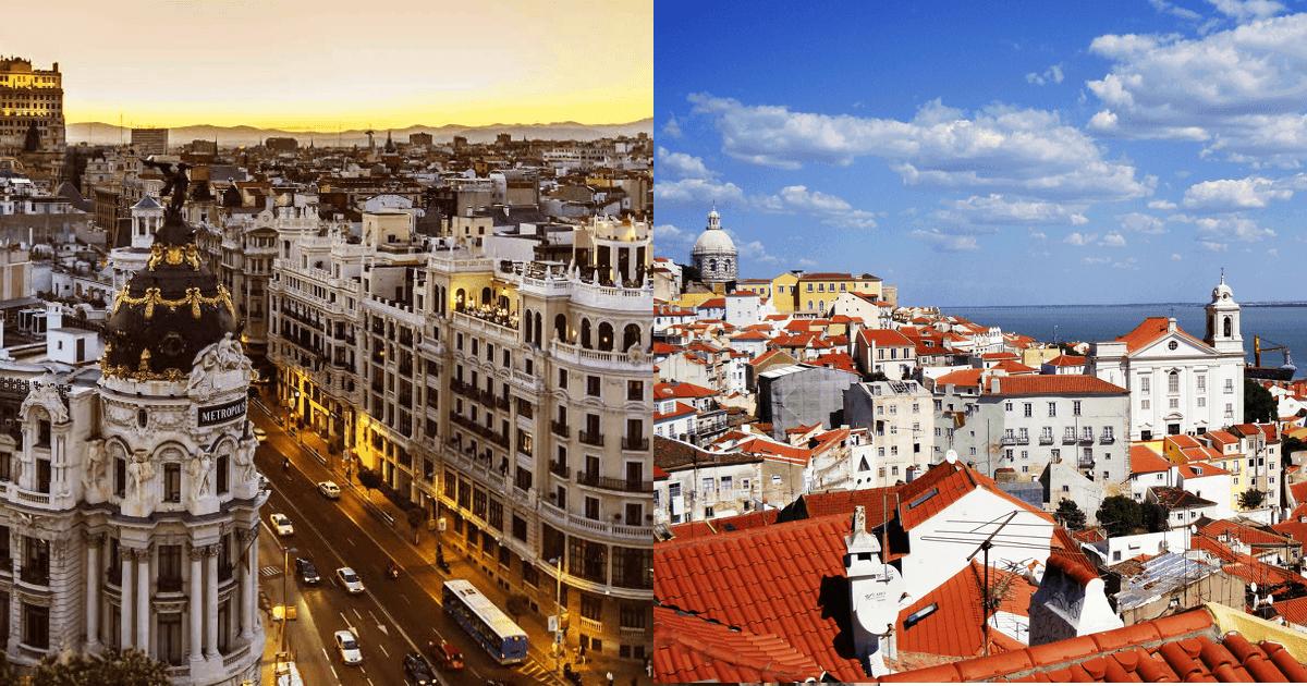 Mini-concours Flytrippers : Madrid vs Lisbonne