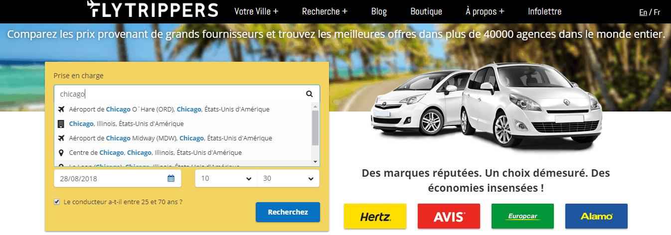 auto de location