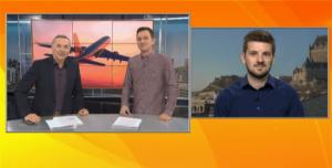 """Vidéo: Passage à """"Salut Bonjour"""" pour parler des histoires insolites de l'aviation"""