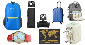 25 idées cadeaux à environ 25$ pour les amoureux de voyage
