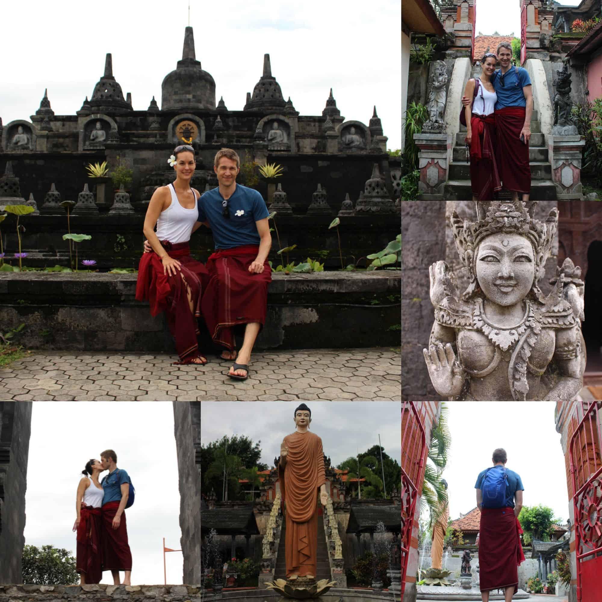 Le temple bouddhiste«Brahma Arama Vihara»
