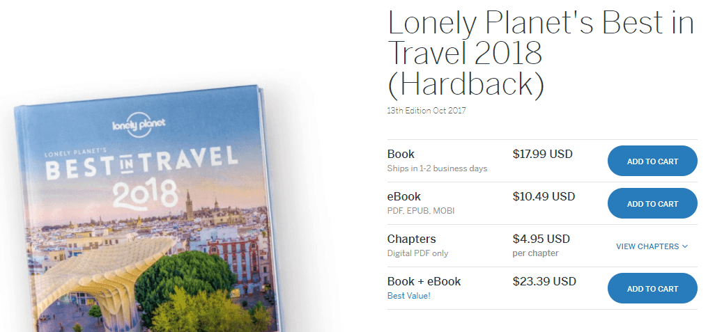 livres lonely planet