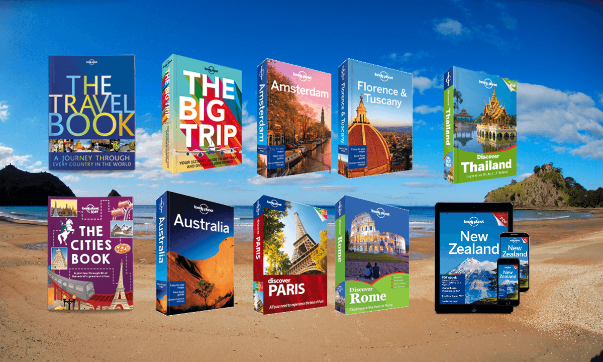 WOW: 2 for 1 Sale On All Lonely Planet Travel Books