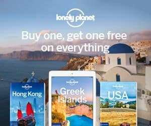 WOW: 2 pour 1 sur les livres de voyage Lonely Planet