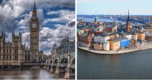 Pourquoi vous devriez considérer passer par Londres ou Stockholm pour tout voyage en Europe