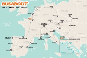 Voudriez-vous être payé 5000$US pour visiter l'Europe tout l'été?