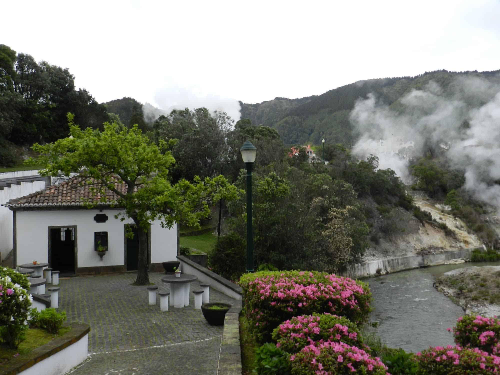 Fumerolles Furnas Açores