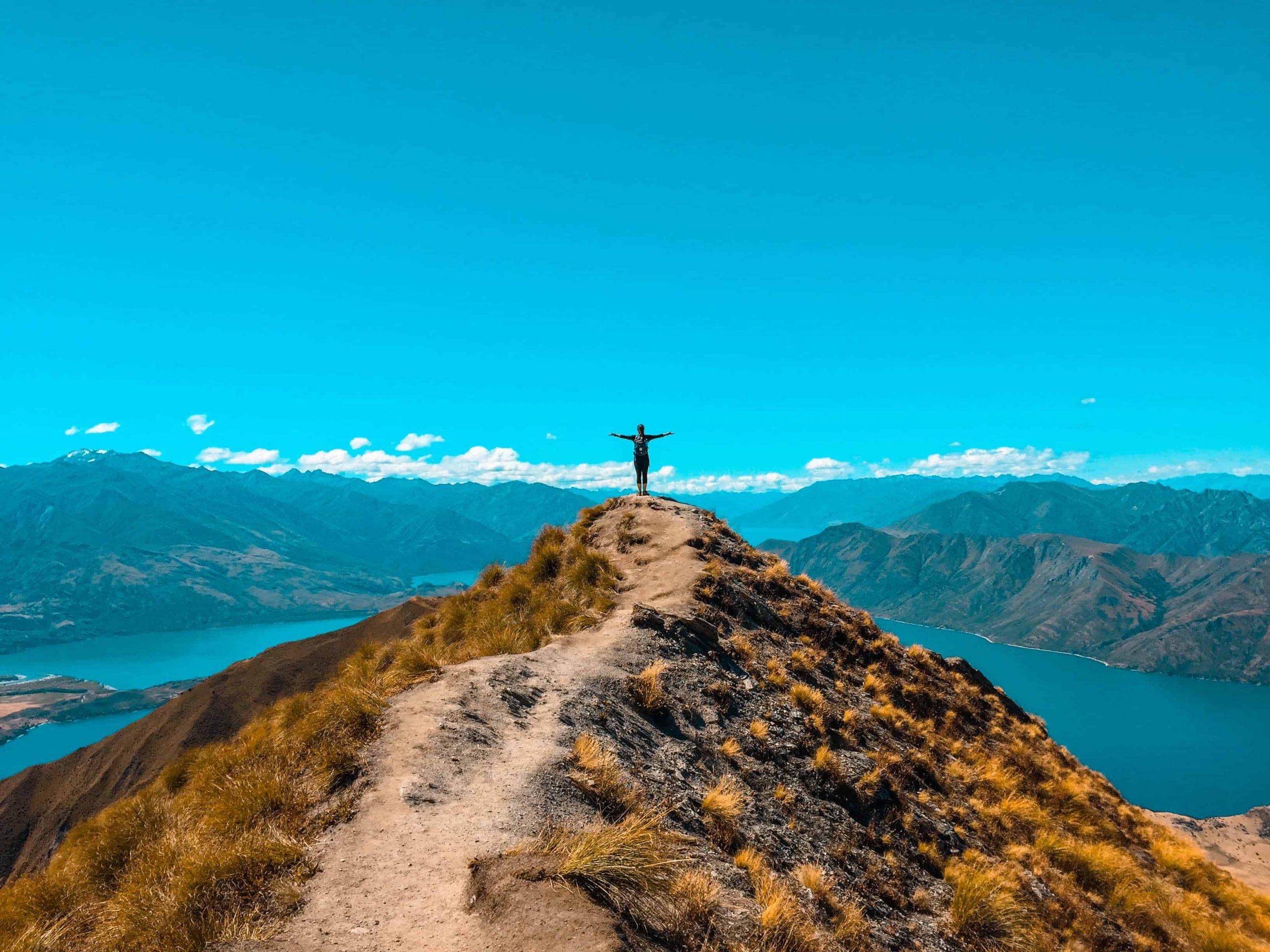 randonnée, paysage, activité