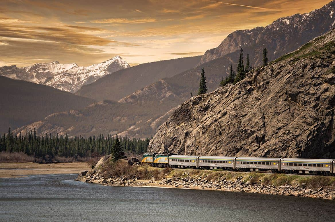 You Could Win One Of 40 Coast-To-Coast Train Trips Across Canada