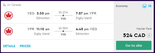 cheap flights edmonton