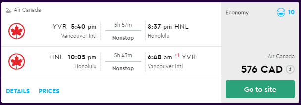 cheap flights vancouver