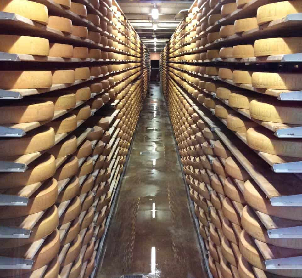 fromagerie Gruyère, Suisse