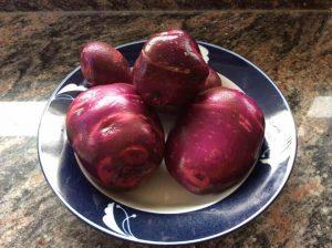 Palos Verdes CA: pommes de terre