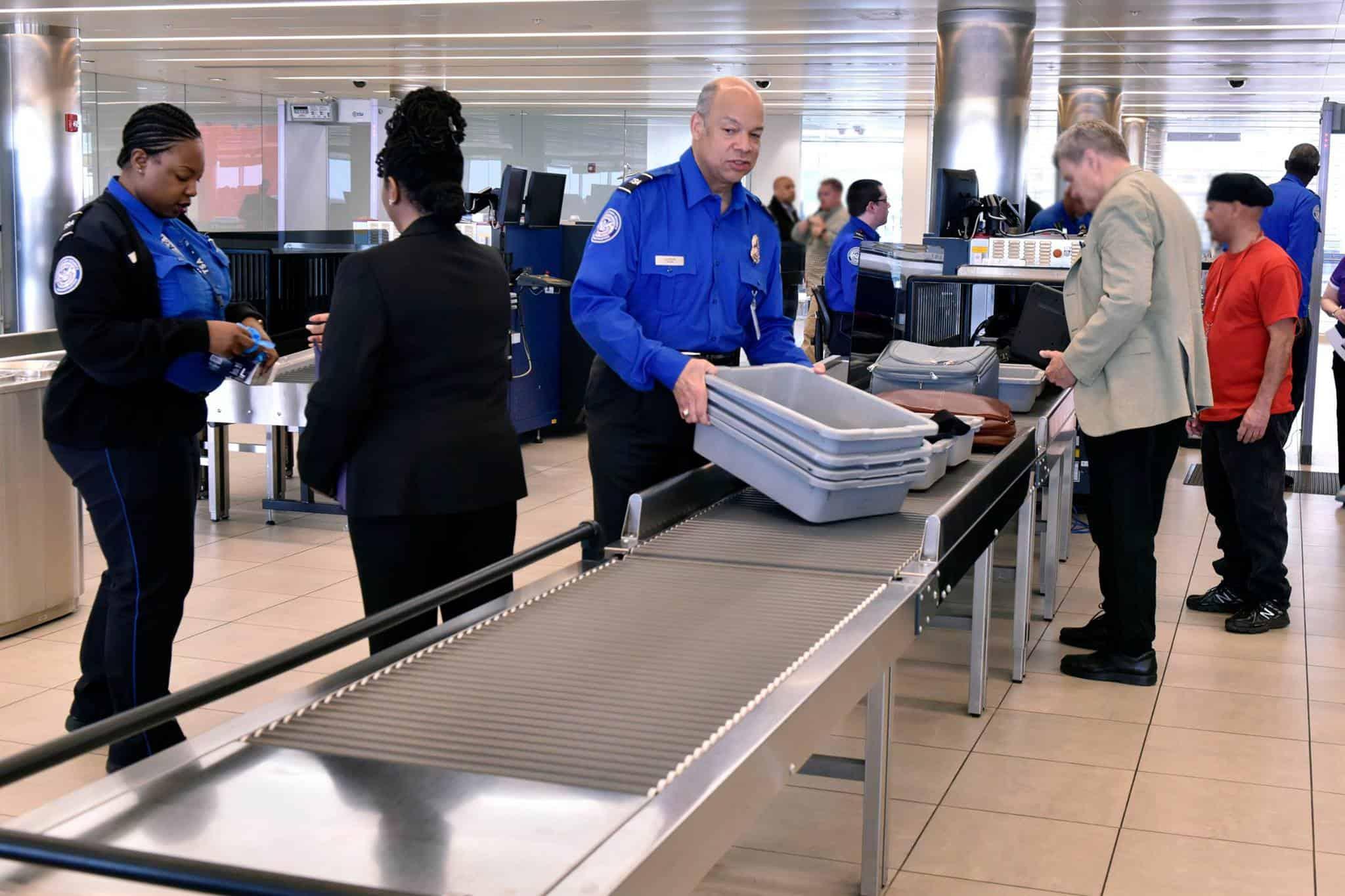La TSA veut complètement enlever tous les contrôles de sécurité dans 34% des aéroports américains