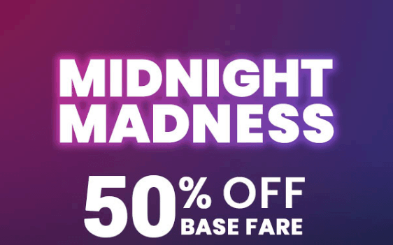 3-Hour Flash Sale Tonight: 50% Off Base Fare On All Flair Flights From Hamilton