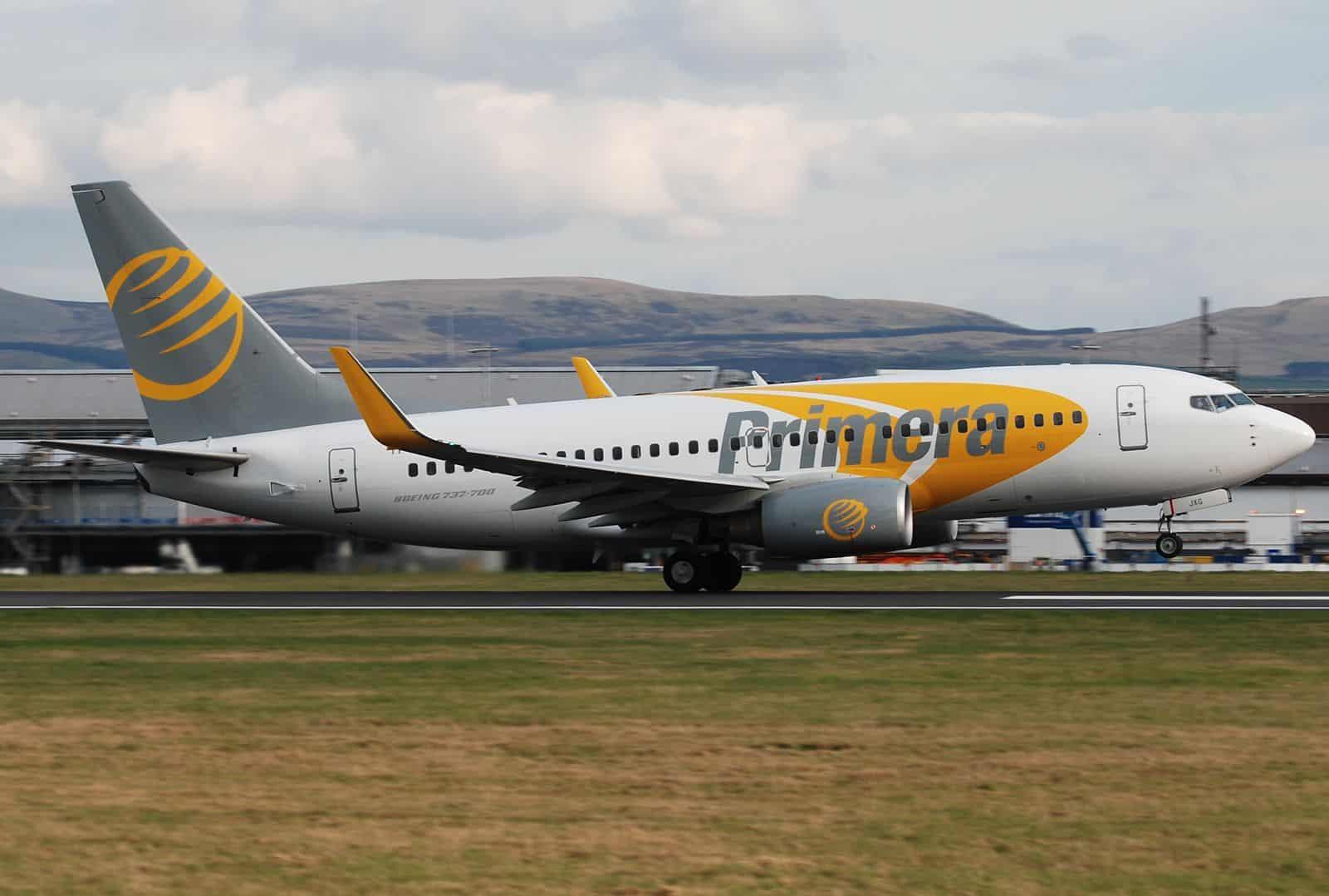 Mauvaise nouvelle: Primera Air cesse ses opérations
