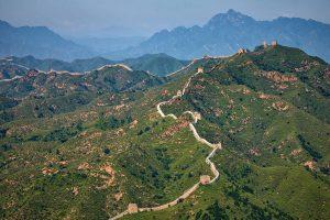 Vidéo: la Grande Muraille de Chine vue du haut des airs