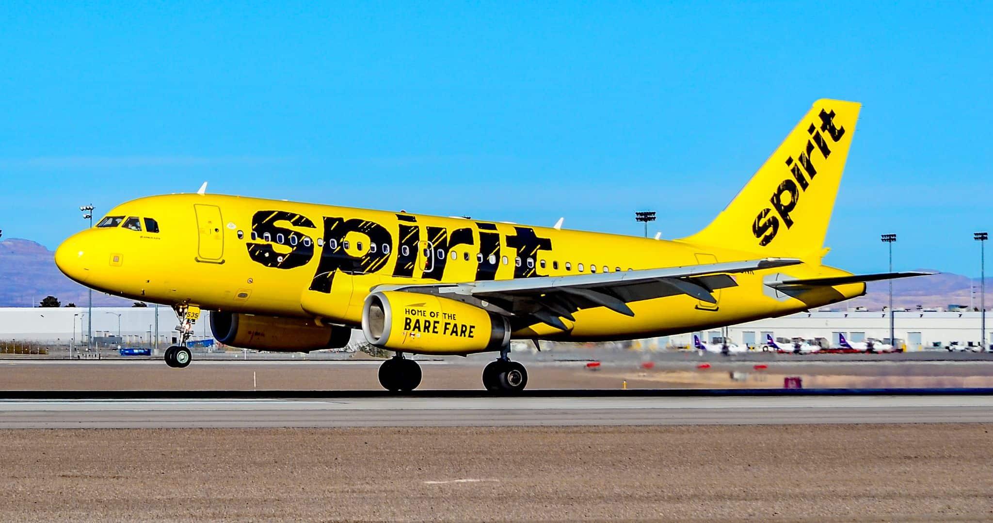 Résultats de ponctualité: Spirit Airlines premier, Air Canada dernier