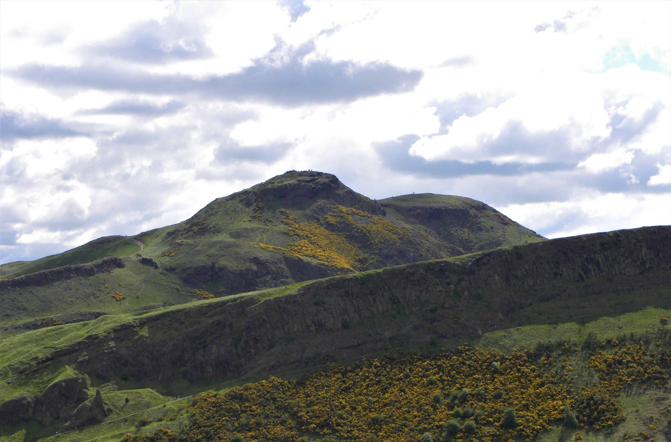 Le Arthur's Seat est une montagne volcanique en bordure d'Édimbourg.