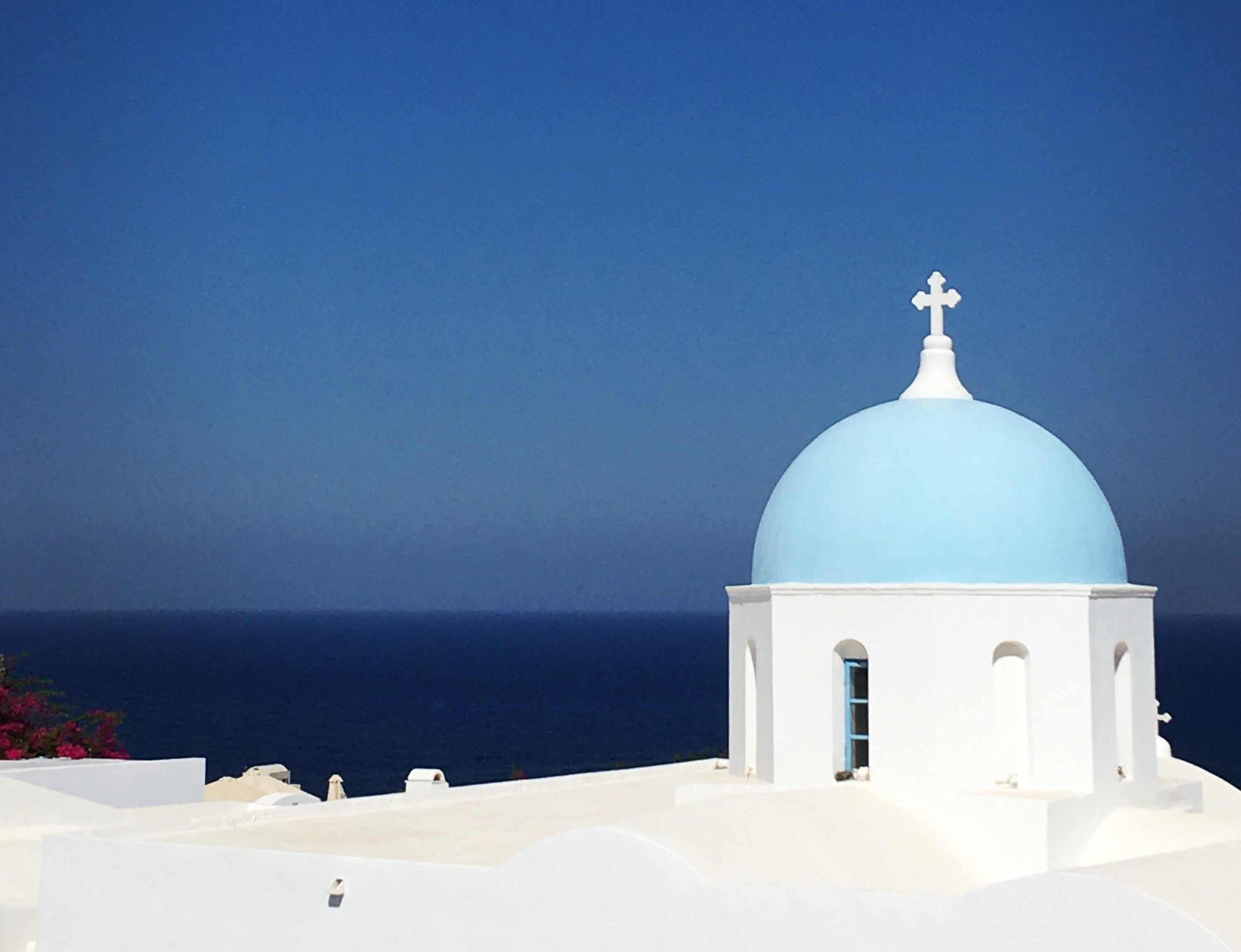 Cap sur la Grèce: de Santorini à Rhodes