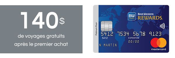 Best Western Rewards Mastercard
