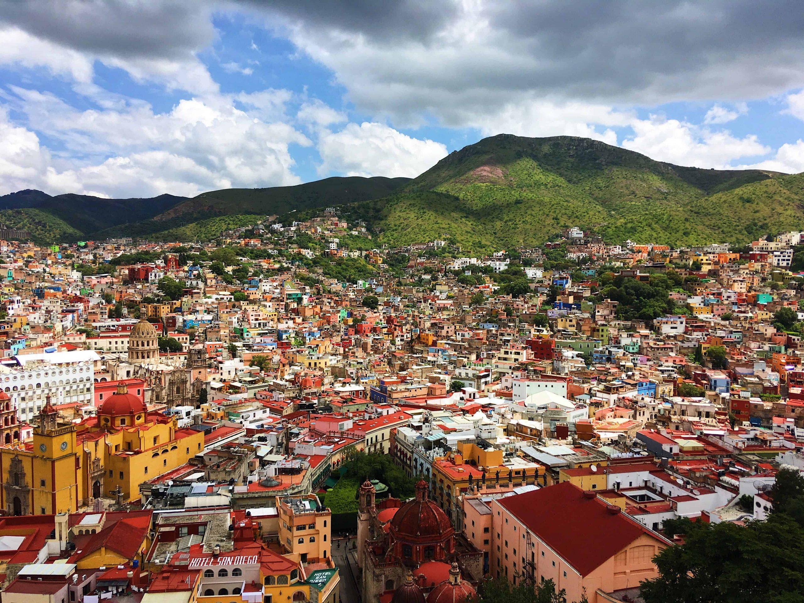 Guanajuato, la ville aux mille couleurs
