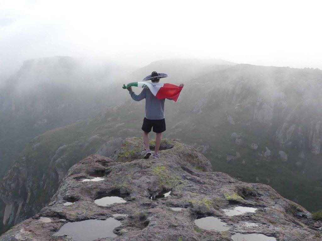 La vue d'El Cerro de la Bufa