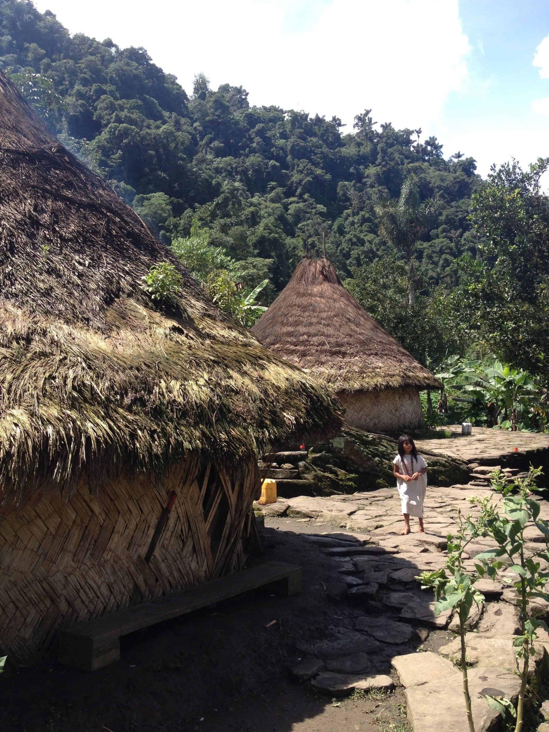 cité perdue indigène Colombie