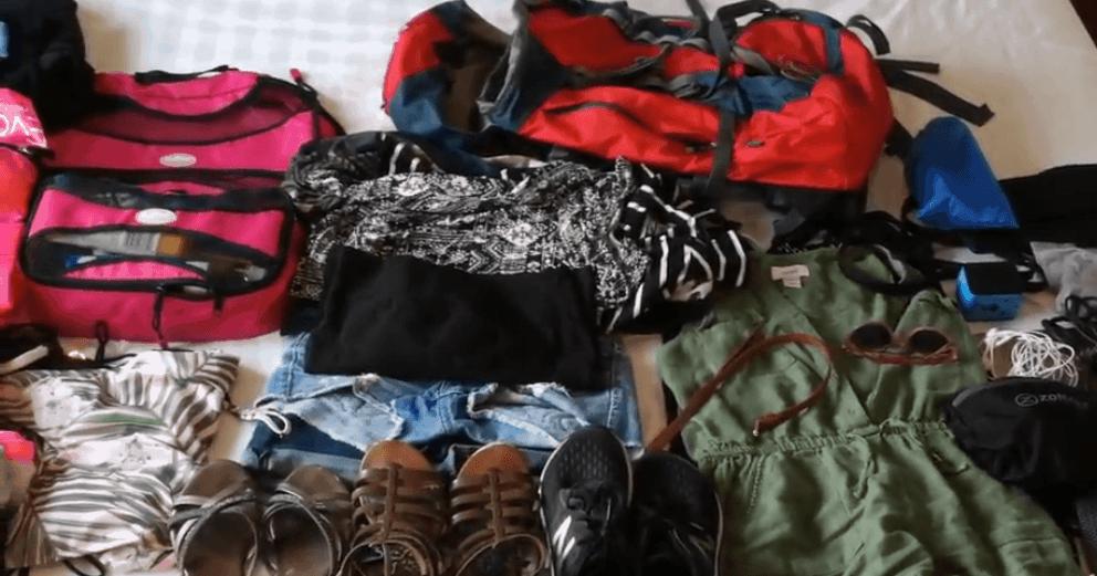 You are currently viewing Liste pour femmes: comment bien préparer son sac à dos pour un voyage!