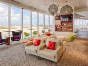 L'accès aux lounges d'aéroport avec la American Express Platine