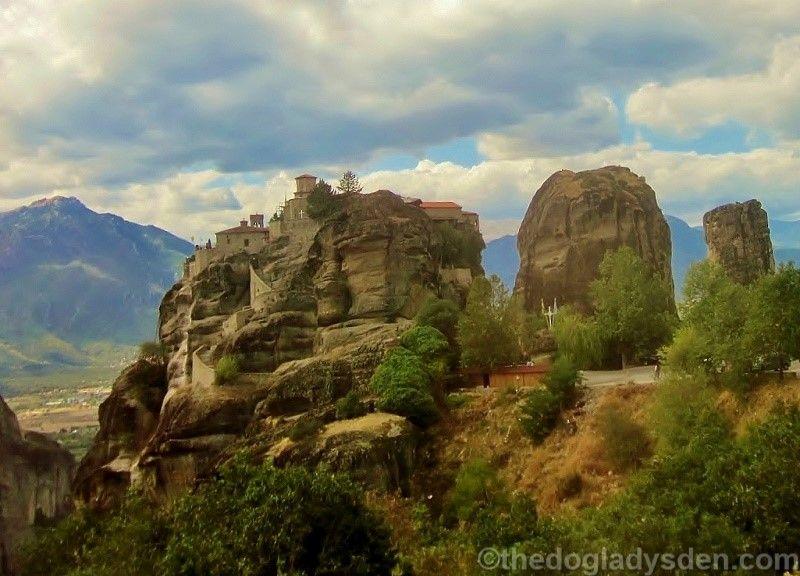 overview, great meteoran monastery
