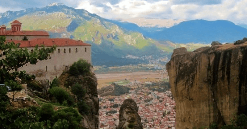 The Hanging Monasteries Of Meteora, Greece