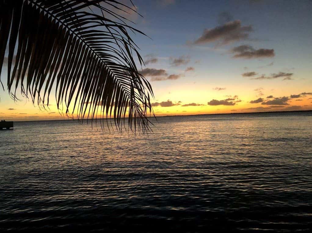 Couché de soleil sur Bonaire