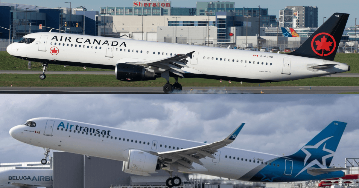 Air Canada va racheter Air Transat