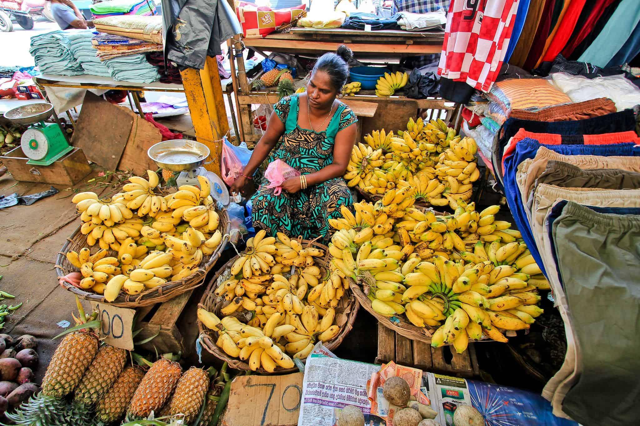 Local Market Sri Lanka