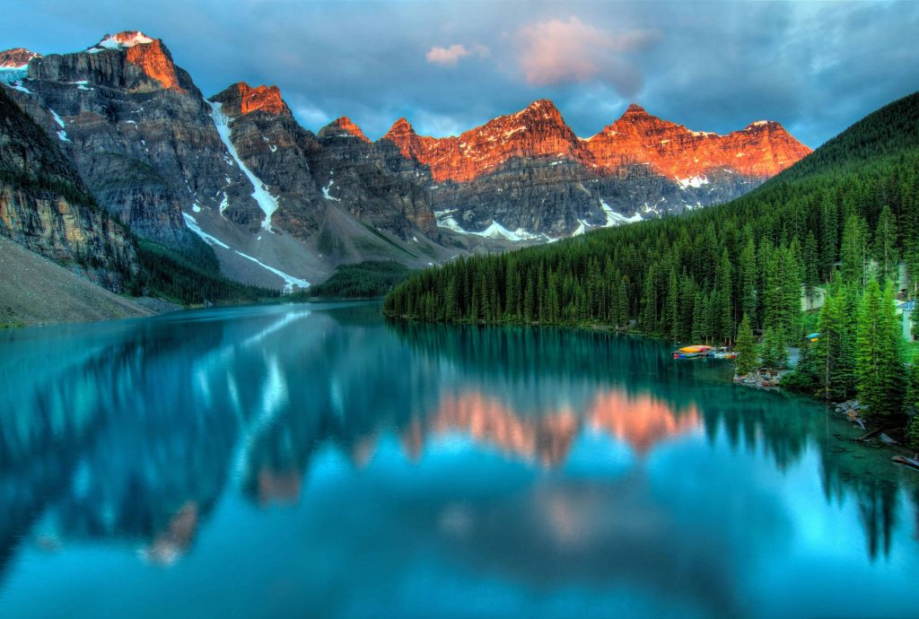 most visited National Parks in Canada