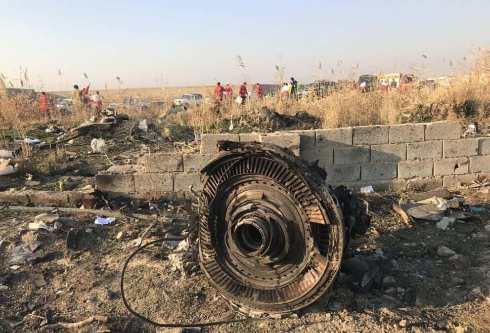 Écrasement d'un avion ukrainien en Iran dans des circonstances nébuleuses