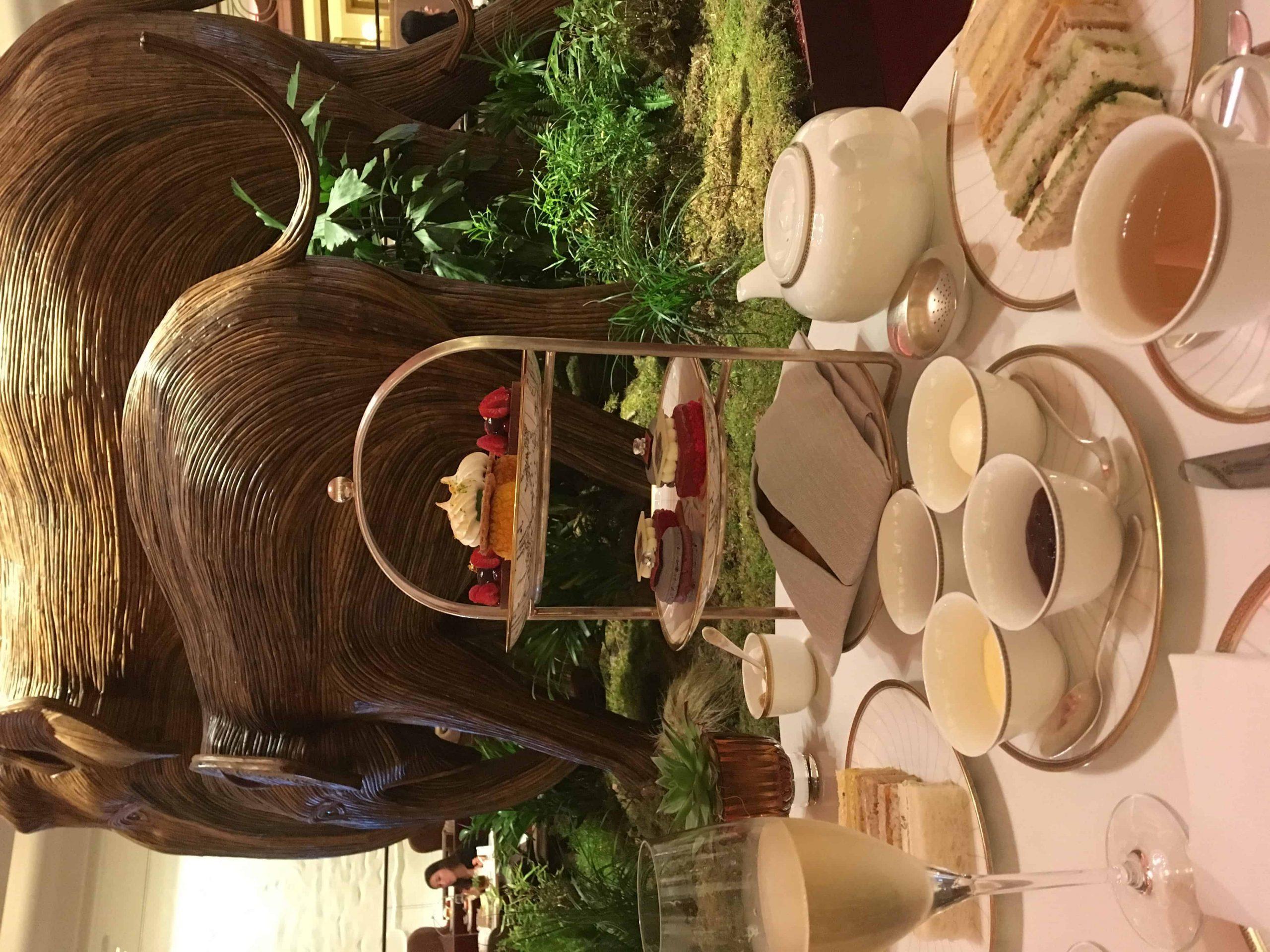 Afternoon Tea au Four Seasons Hotel