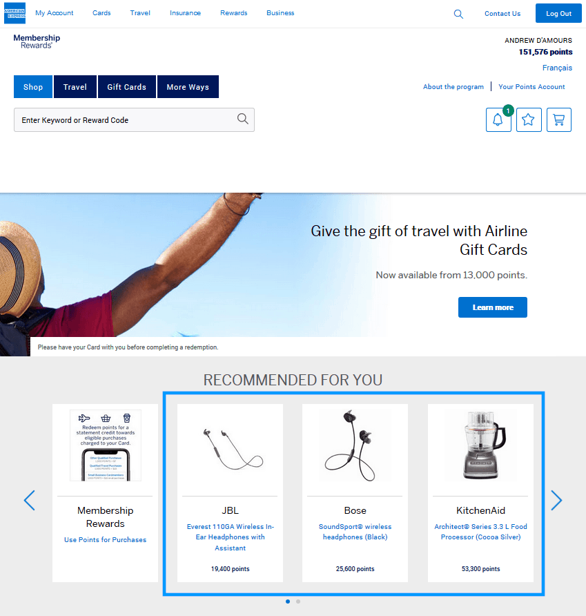 transfer amex points to marriott points step by step