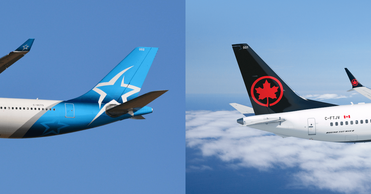 "Air Canada's Acquisition of Air Transat ""Will Result In A Substantial Lessening Of Competition"""