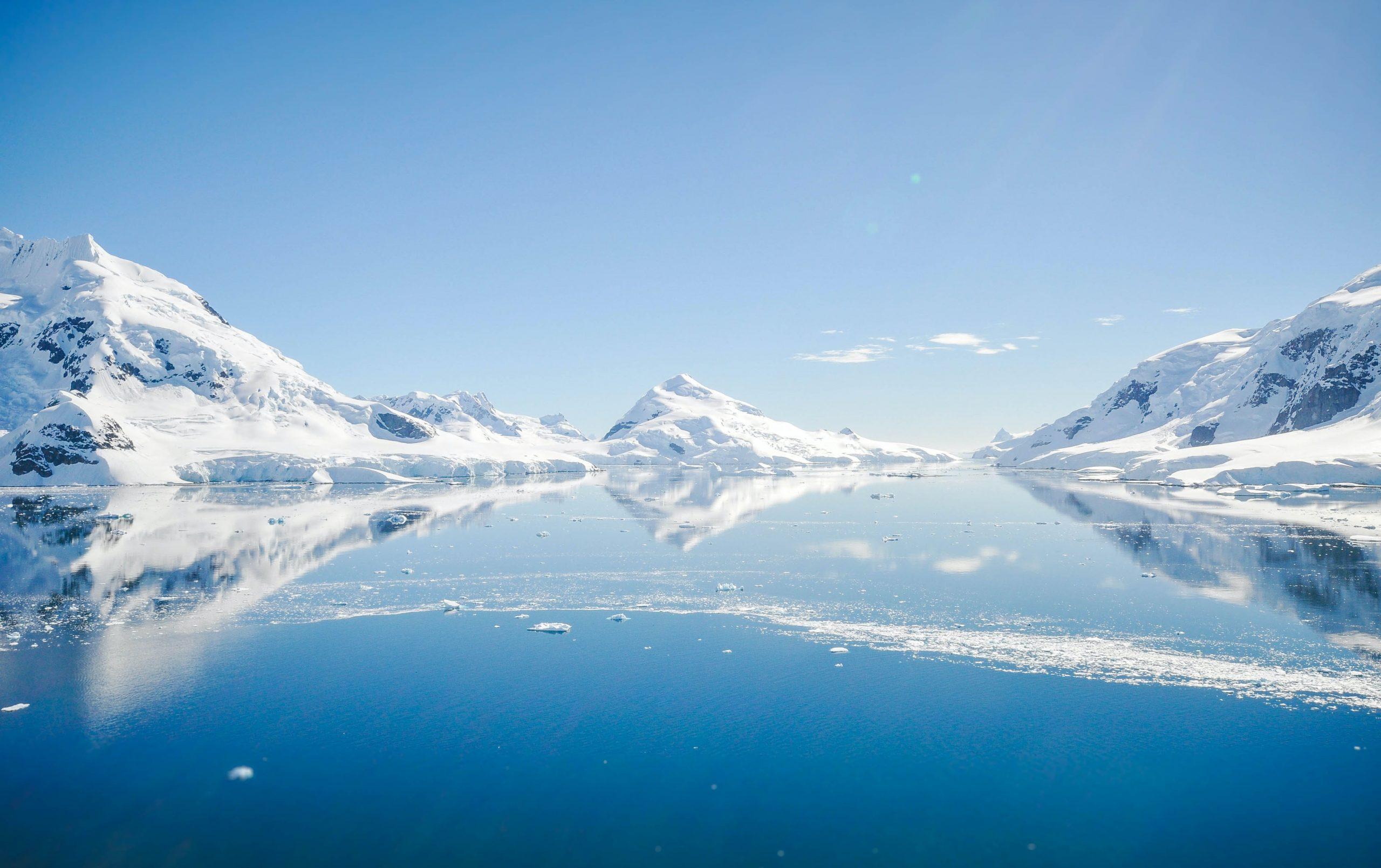 La carte très déroutante qui montre qu'en Antarctique, le nord est dans toutes les directions